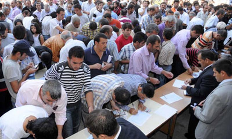 معدل البطالة في تركيا يصل إلى 12.8%