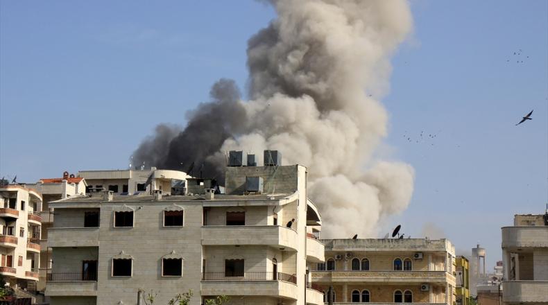 الطائرات الروسية تخرق الهدنة وتقصف إدلب