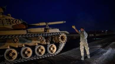 ( على هامش التحرّك التركي في نبع السلام )